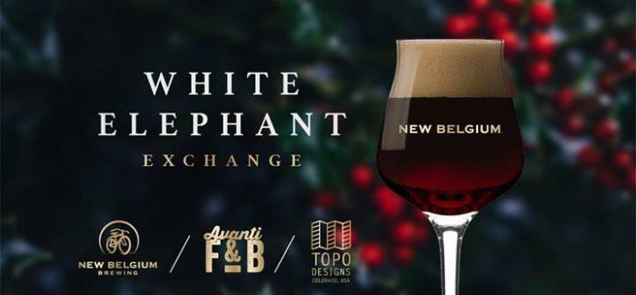 Join Avanti F&B, New Belgium & Topo Designs for a White Elephant Exchange