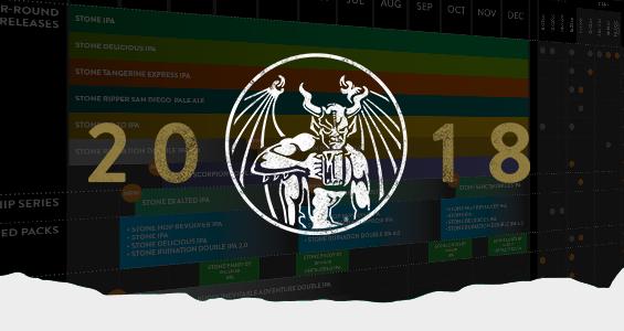 Stone 2018 Release Calendar Header
