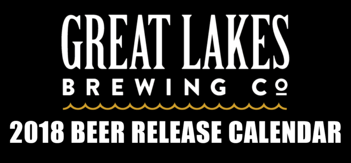 Great Lakes Brewing Company Announces 2018 Beer Release Calendar