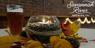Savannah River Brewing Co. Fall Beer Dinner with Mack's Street Eats