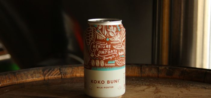 Creature Comforts Brewing Co. | Koko Buni Milk Porter