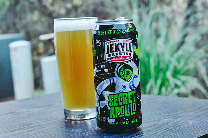 Photo of Jekyll Brewing's Secret Apollo