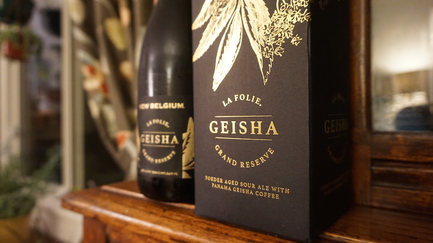 New Belgium Brewing Geisha