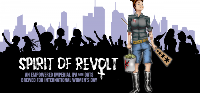 Revolution Brewing Created a New IPA to Celebrate International Women's Day