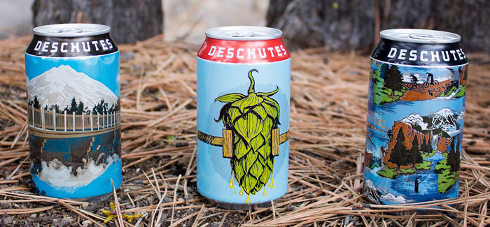 Deschutes Brewery to Begin Canning