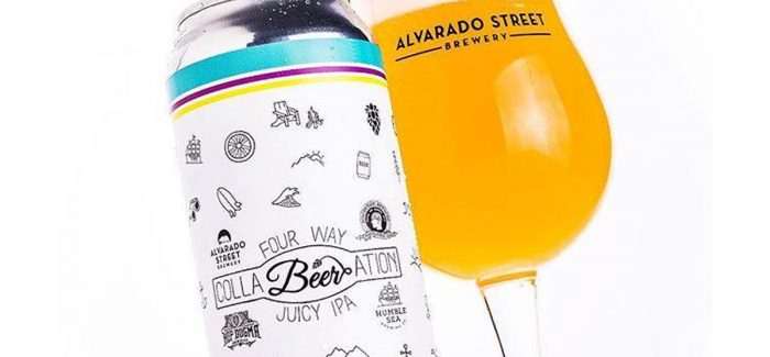 Alvarado Street Brewery | CollaBEERation Four Way Juicy IPA