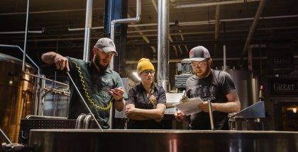 4 Noses & Great Divide Brewing Collab Fest Brew Day - Aperture of Ales by Holly Gerard