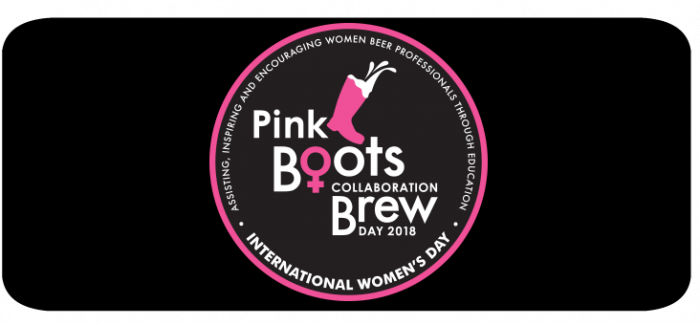 Pink Boots Collaboration Brew Day Celebrates International Women's Day