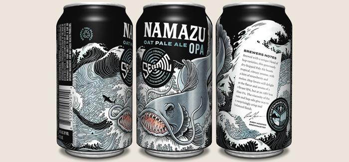 Seismic Brewing Co. | Namazu Oat Pale Ale