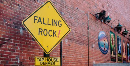 Falling Rock Taphouse - Aperture of Ales by Holly Gerard