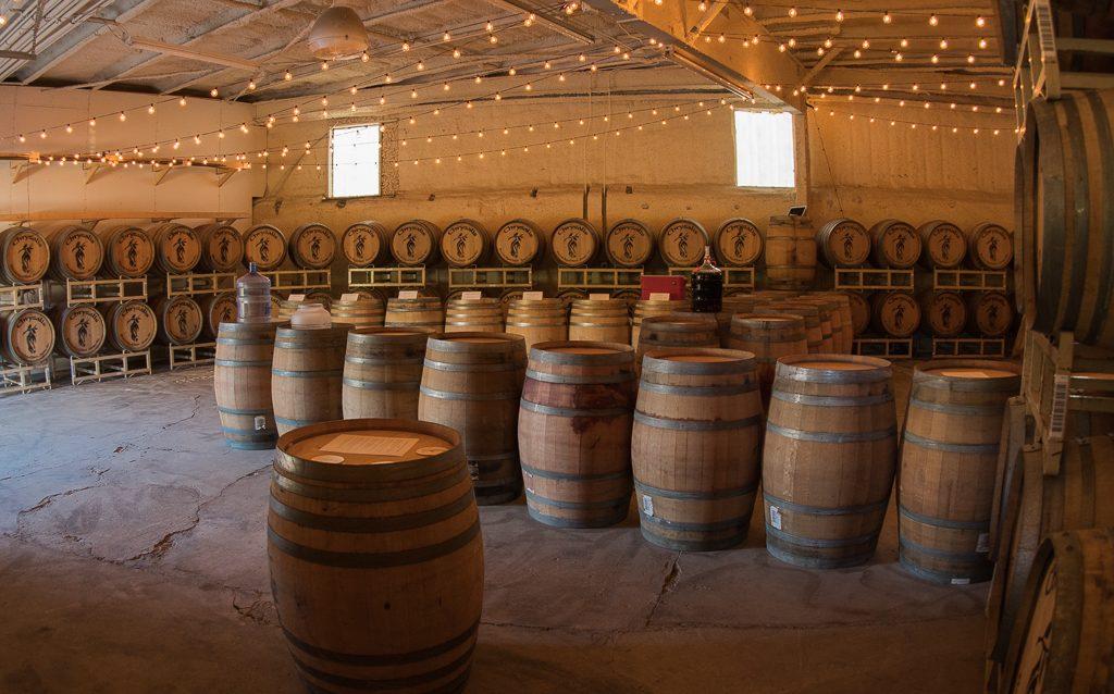 Chrysalis Barrel Aged Beer Barrel Room