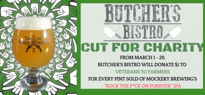 Denver's Mockery Brewing & Butcher's Bistro Raise $1,320 for Charity