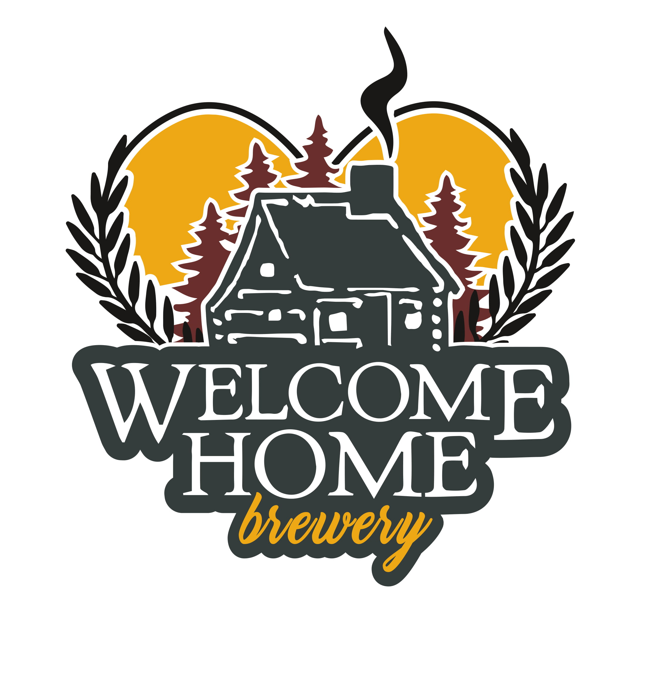 Welcome Home Brewery Logo