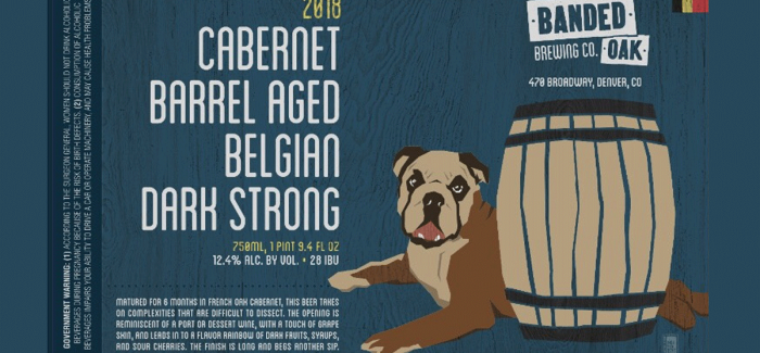 Banded Oak Brewing | Cabernet Barrel Aged Belgian Dark Strong Ale