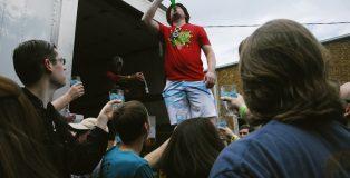 Yazoo Funk Fest Bottle Chug