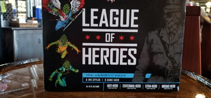 Assessing the Comic Book Success of Revolution Brewing's League of Heroes Variety Pack