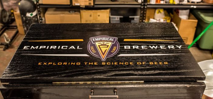 Inside the Tank | Empirical Brewery