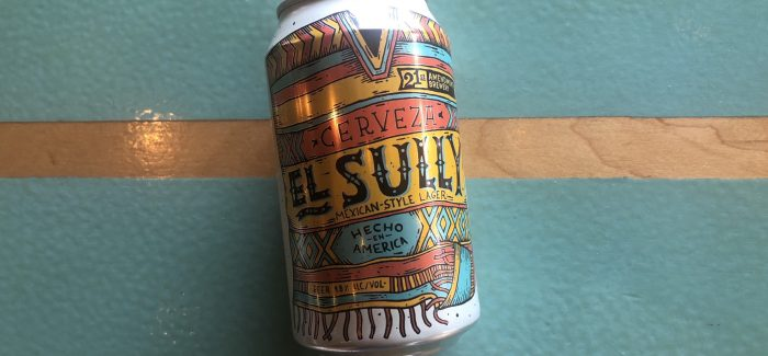 21st Amendment Brewery | El Sully Mexican-Style Lager