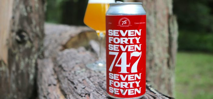 Seven Stills Brewery & Distillery | 747 Belgian Strong Golden Ale
