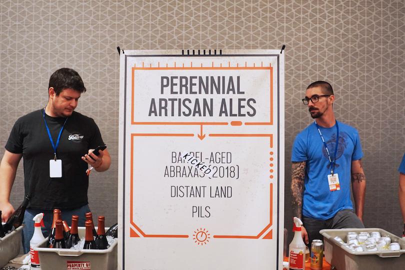 Perennial Brewing Barrel Aged Abraxas