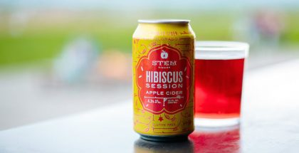 Stem Ciders Hibiscus Session Apple Cider
