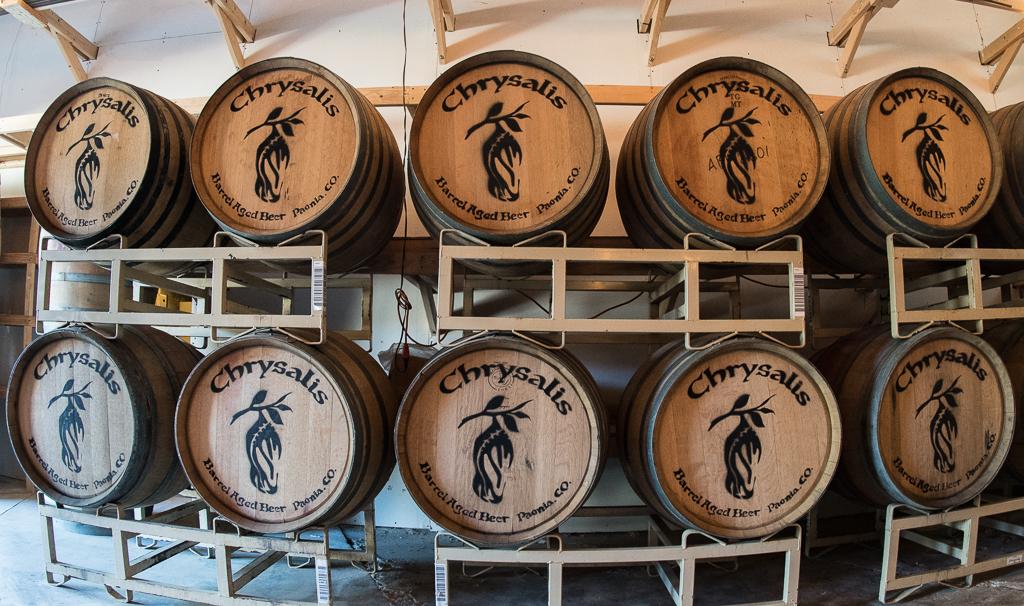 Chrysalis Barrel Aged Beer