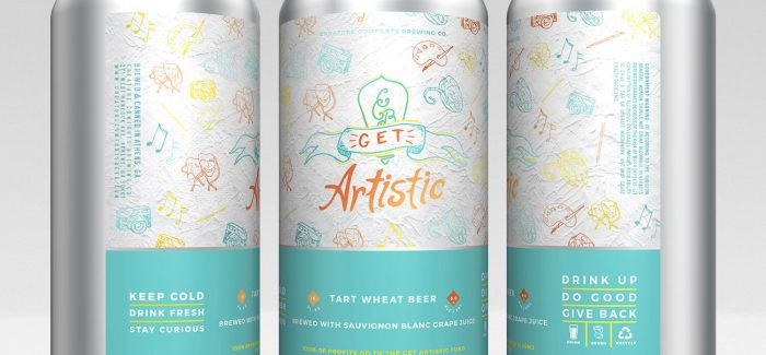 Creature Comforts Brewing Co. | Get Artistic Tart Wheat Beer