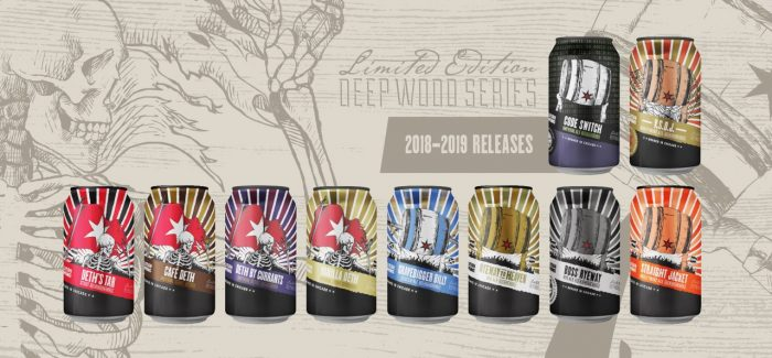 Revolution Brewing Announces 2018-19 Deep Wood Series