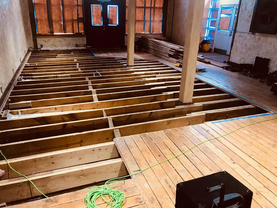 Elizabeth Brewing Brewery Floor