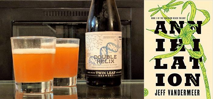 Beer & Book Club | Annihilation & Double Helix Wild Blonde
