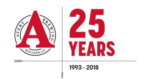 avery brewing 25 anniversary