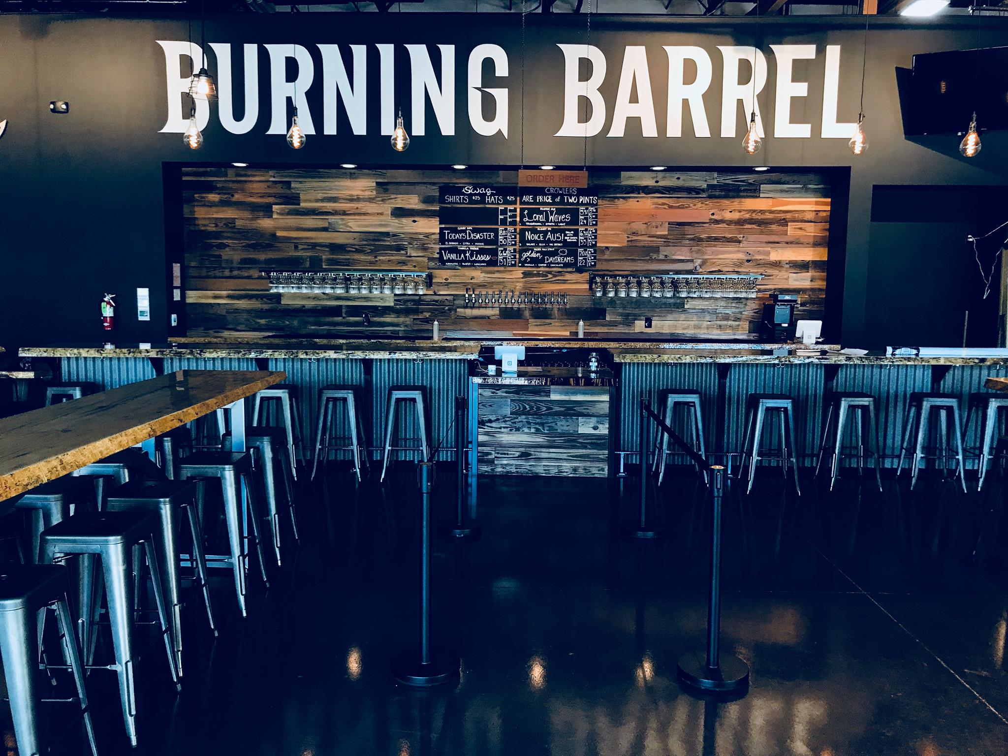 Burning Barrel Brewing Taproom