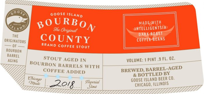 2018 Bourbon County Labels Hint Possible Neapolitan, Horchata, Reserve Variants