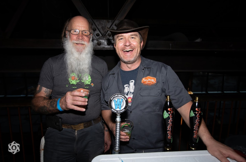 The Strange Craft crew at Save the Ales 2018