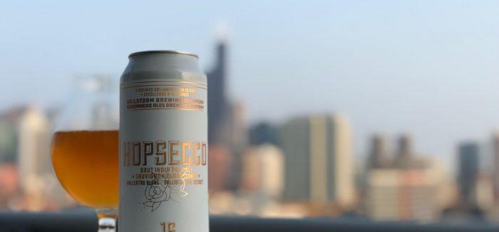 Hailstorm Brewing & Arrowhead Ales | Hopsecco Brut IPA