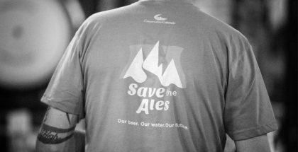 Save the Ales 2017 shirt