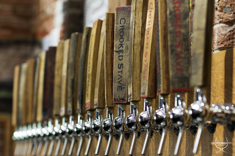 crooked stave tap handles