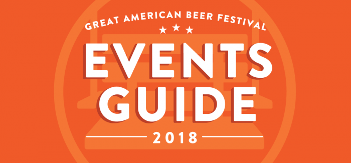 The Complete 2018 GABF Week Events Guide