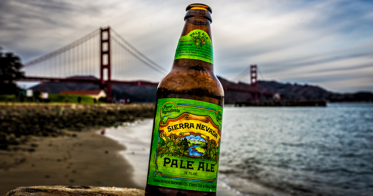 Sierra Nevada Pale Ale (Photo courtesy of Davide D'Amico)