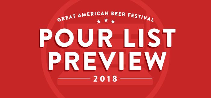 2018 GABF Pour List Preview