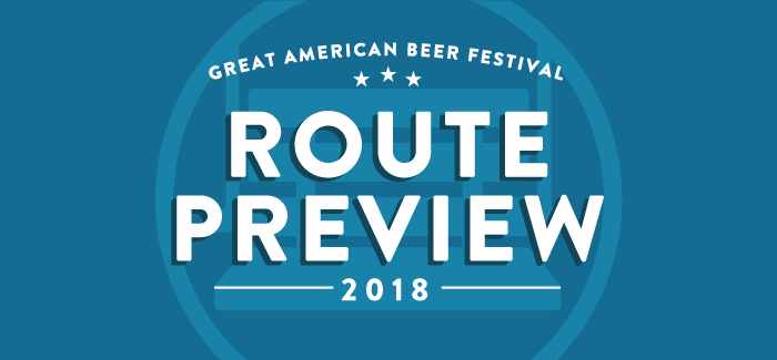 2018 GABF Route Guide | Hoppy Beers Route