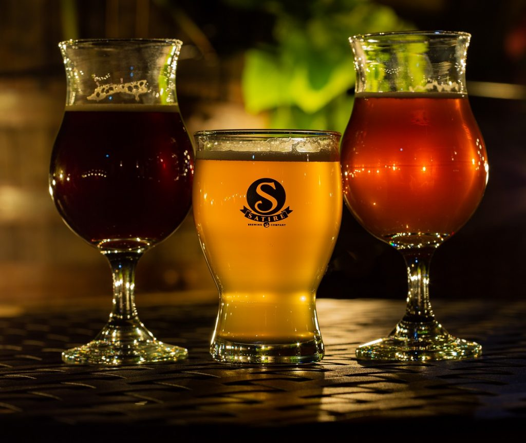 Satire Brewing Company Brews