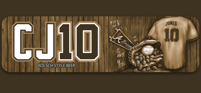 Watch the Braves in the Playoffs with Terrapin Brewing CJ10