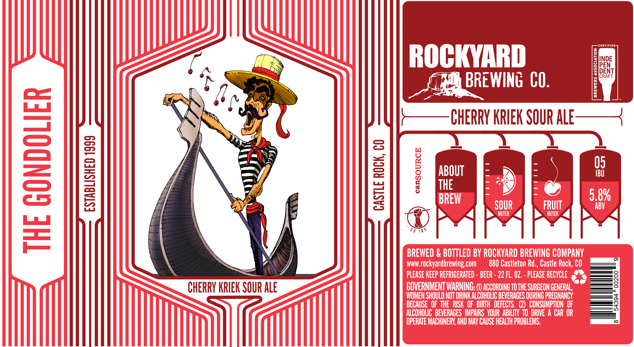 Rockyard Brewing The Gondolier