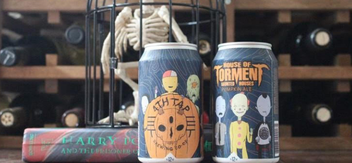 4th Tap Brewing Cooperative Brews Spooky Concept for Haunted House Entertainment Pioneer