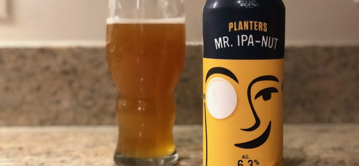 Noon Whistle Collaborates with Planters on Mr. IPA-Nut