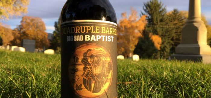 Epic Brewing | Quadruple Barrel Big Bad Baptist Barrel-Aged Stout