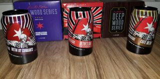 First Impressions on Revolution Brewing's 2018 Deth's Tar and its Two Variants