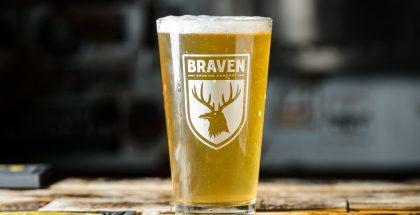 A Braven beer.