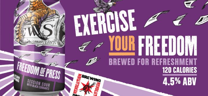 Revolution Brewing Expands Freedom Session Sour Series